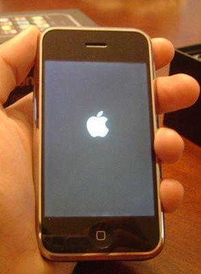 Pantalla de la muerte iPhone