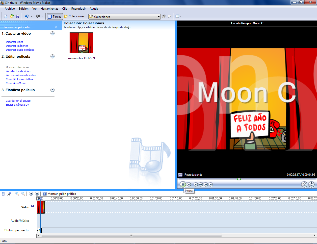 windows movie maker para windows 7 moon c